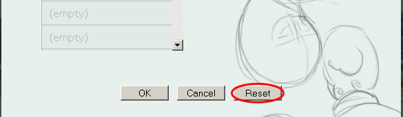Frontpage Reset Button