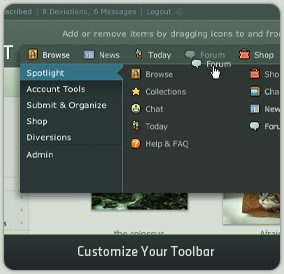 Customize Your Toolbar